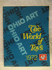 1972 vintage OHIO ART retailer catalog World of Toys train tractor EtchA Sketch