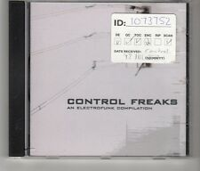 (HK693) Control Freaks, An Electrofunk Compilation - 11 tracks - 2002 CD