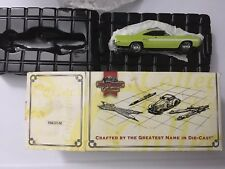 New 1:43 Matchbox Collectibles 1970 Plymouth GTX YMC07-M w/COA Die-cast metal