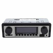 SODIAL 147755 Bluetooth Autoradio Vintage - Negro