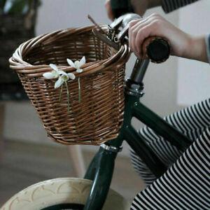 Fahrradkorb mit Lenker aus Korbgeflecht S #EB Fahrradkorb für Kinder