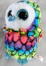 ARIA  The Owl - Claire's Exclusive - (6 inch) Ty Beanie Boo - NEW with MINT Tags