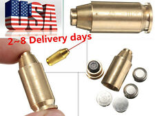 CAL .45 ACP Brass Red Dot Laser Bore Sighter Cartridge Boresighter For Hunting