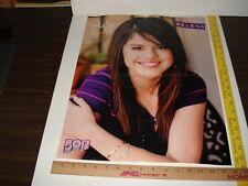 BOP Magazine - Centerfold -  featuring Demi Lovato and Selena Gomez