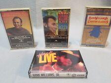 Hank Williams jr Cassette lot of 4