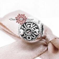 Pandora, S925, Talk About Love Charm, NEW, 796601