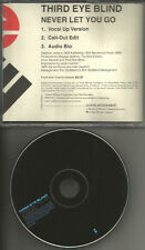 THIRD EYE BLIND Never let you Go VOCAL UP & AUDIO BIO PROMO DJ CD single 3rd