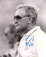 DON SHULA SIGNED AUTOGRAPHED 8x10 PHOTO +HOF 97 MIAMI DOLPHINS COACH BECKETT BAS