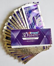 Crest 3D White LUXE Professional Effects Whitestrips Teeth Whitening  20 Pouches