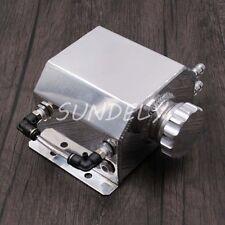 Universal Aluminium Alloy 1 Litre Water Tank & Cap Fitting 1000ml Silver