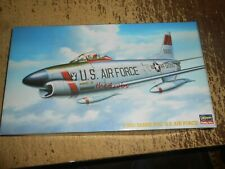 Hasegawa F-86D Sabre Dog US Air Force Jet Model Unstarted in Open Box 1/72