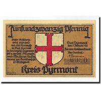 Monnayage de nécessité, Allemagne, Pyrmont, 25 Pfennig, personnage #359475