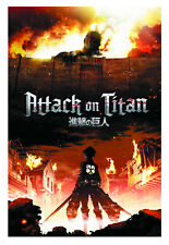 ATTACK ON TITAN POSTER - DIFFERENT SIZES - FRAMED OPTION (ti001)