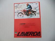 advertising Pubblicità 1978 MOTO LAVERDA 125 LH REGOLARITA'