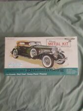 VINTAGE GABRIEL METAL CAR MODEL KIT SJ DUESENBERG PHAETON