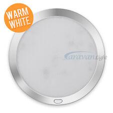 12v φ216mm LED Down Lights Ceiling Warm White/Blue Caravan Marine Interior Lamp