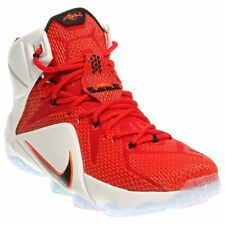 """NIKE LEBRON XII 12 """"HEART OF A LION"""" UNIVERSITY RED 684593-601 Size 10"""