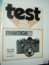 TEST PHOTARGUS  PRAKTICA LTL  en francais photo photographie