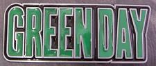 Pewter Belt Buckle Music Greenday NEW text