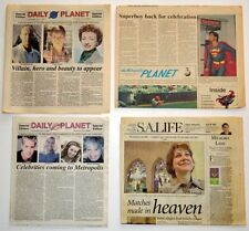 2 DAILY PLANET SPECIAL ED NEWSPAPERS 1 Metropolis PLANET & S. A. EXPRESS LIFE