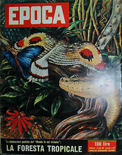 EPOCA N°301/8/LUG/1956 * LA FORESTA TROPICALE - FUCILATE x I POLACCHI - MARILYN