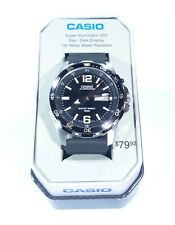 Casio Super Illuminator LED Men's Watch MTD1079-1AVTN Diver 100M Brand New