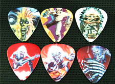 12 Plettri chitarra basso Iron Maiden Rock Metal band guitar picks 1.00mm Heavy