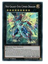 Yugioh, Neo Galaxy-Eyes Cipher Dragon (Raging Tempest) 1st