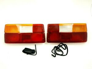 RENAULT 18 TAIL LIGHT SET LEFT AND RIGHT LENS AND CASE NEW !!! #971AB