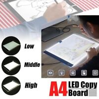 """13""""A4 LED Graphic Tablet for Drawing Panel Art Stencil Drawing Board Tracing Pad"""