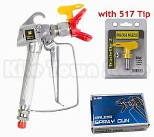 Spray Gun w/ Guard & Tip For Graco Titan Wagner Airless Paint Sprayer 3600 PSI