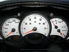 Quadranti strumentazione bianchi volante Porsche 911 996 mk1 anno 1998 - 2001