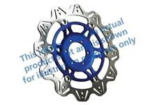 Compatibili con Honda CBR 600 Rr3/Rr4 03>04 EBC VR Disco Freno Blu Hub Anteriore