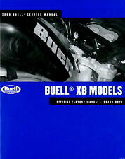 2008 Buell Xb Motorcycle Service Manual : 99490-08Y