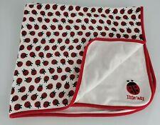 NWT Gymboree Little Lady Ladybug Vintage 2008 Baby Swaddling Blanket NEW