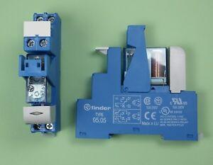 48.61.7.024.0050 - Finder Industrie Koppel Relais 24V DC 1 Wechsler 16A
