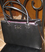 Kate Spade New York ~  Wellesley Elena Tote Black ~ Leather ~ NEW ~ SEE NOTES