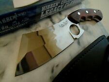 "Wes & Gil Hibben Legacy Cleaver Combat Knife 5mm Full Tang 5Cr15 GH5085 10 3/4"""