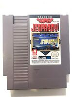 Talking Super Jeopardy ORIGINAL NINTENDO NES GAME Tested WORKING Authentic