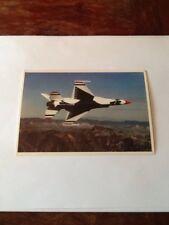 "351) LAS VEGAS NEVADA ~ NELLIS AIR FORCE BASE ~ US AIR FORCE ""THUNDERBIRDS"" JET"