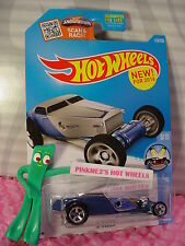 Case B 2016 Hot Wheels Hi-Roller #118✰Blue/Chrome; 5sp✰New Model✰Hw Showroom