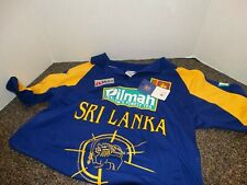 Sri Lanka Official Icc Cricket World Cup 2007 (M) Mas Cricket Shirt Cotton Nwt