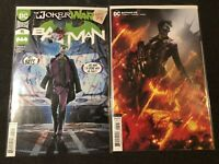 BATMAN #95 NM Main Cover + Mattina Variant Set DC 2020 Punchline 1st Joker War