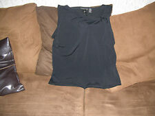womens NWT attention shirt size xl black