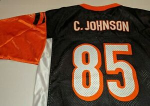 CINCINNATI BENGALS Chad Johnson NFL Football Jersey Boys Youth XL(18-20)