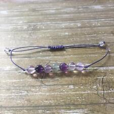 Crystal Bracelet Healing Meditation Gemstone - Fluorite - Stomach Disorders