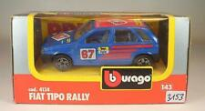 Bburago 1/43 Nr. 4134 Fiat Tipo Rally blau OVP #3153