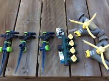 Lot of 5 lawn Sprinklers: Nelson, Ray Fadula, plus