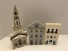 Sheila's Collectible Houses St. Michaels Church Rainbow Row 105 & 107 East Bay