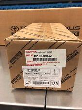 Lexus RX350 RX450H ES350 OEM Genuine OEM TOYOTA WATER PUMP 16100-09442